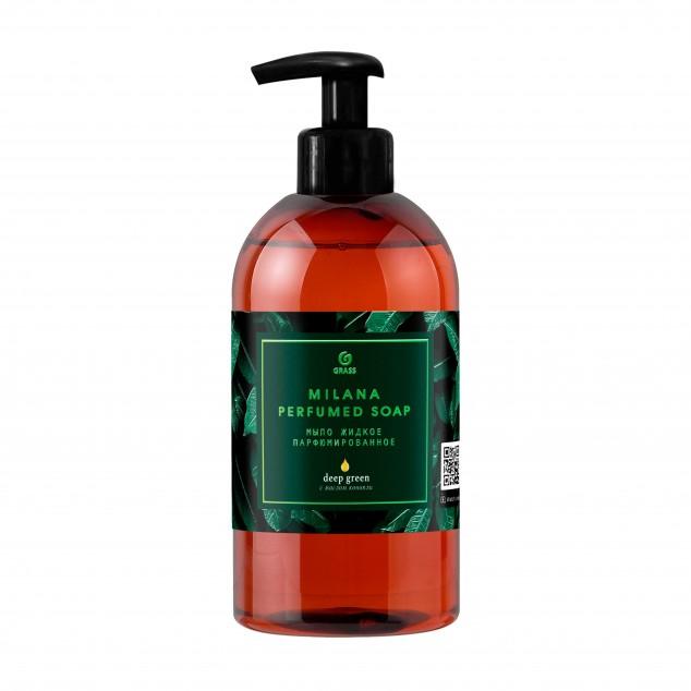 Парфюмированное жидкое мыло MILANA «Green Deep» 125502, флакон 300 мл