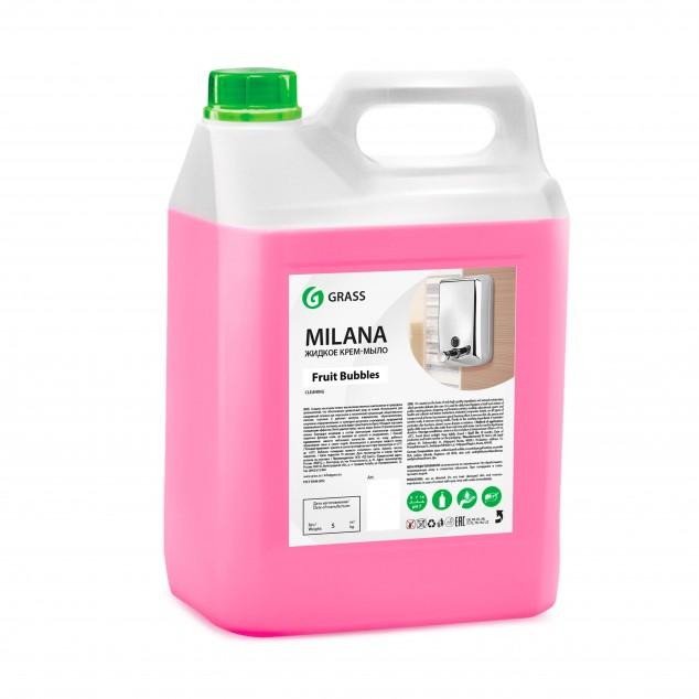 Жидкое крем-мыло MILANA «Fruit Bubbles» 125318, канистра 5 кг