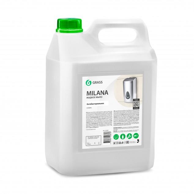 Жидкое мыло MILANA «Антибактериальное» 125361, канистра 5 литров