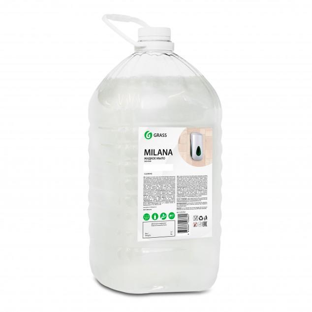 Жидкое мыло MILANA «ЭКОНОМ» 125352, канистра 5 кг