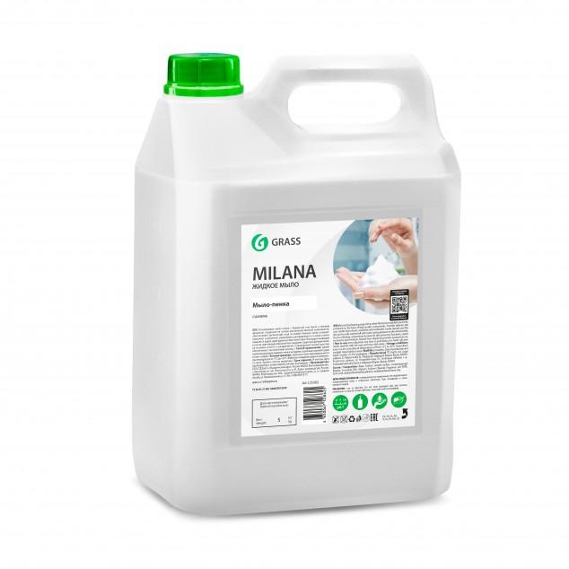 Жидкое мыло MILANA «Мыло-пенка» 125362, канистра 5 кг